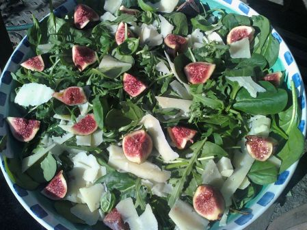 fig pecorin salad