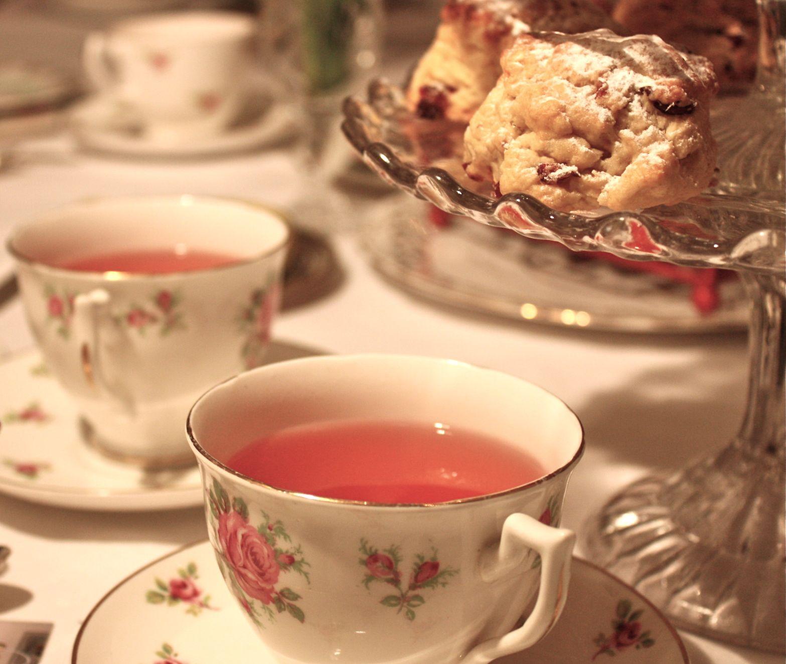 Tea n scone – Vintage rose catering