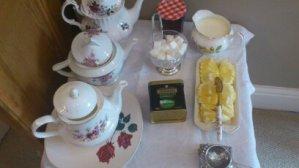 Vintage china tea pots