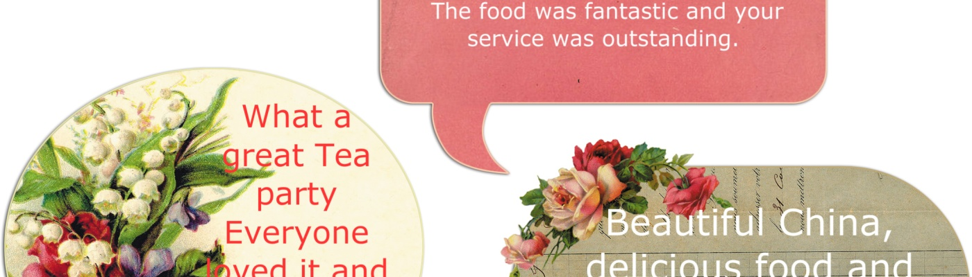 Birthday Parties – Vintage rose catering