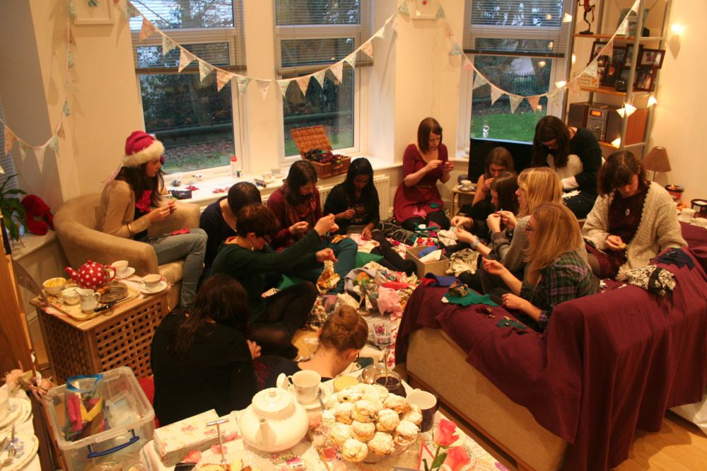 Hen Parties at The Tearoom – Vintage rose catering