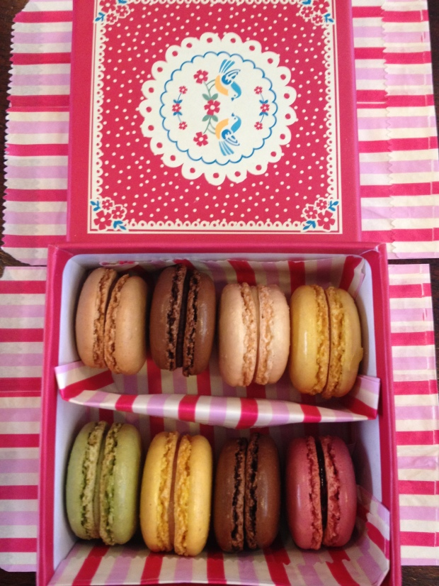 macarons by post